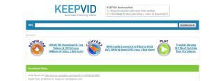 keepvid layanan untuk mendownload video streming